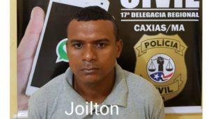 Joilton é acusado de ter praticado homicídio